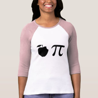 T-Shirt, Apple Pi, Black T-Shirt