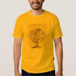 T-Shirt Armillary Sphere, spinning astronomy Globe