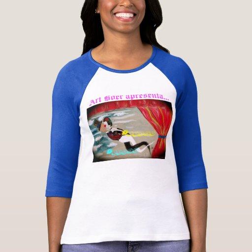 """T-shirt Art Boer """"Bissou"""""""