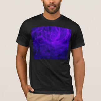 T-Shirt - Arte Abstracto - Azul y púrpura