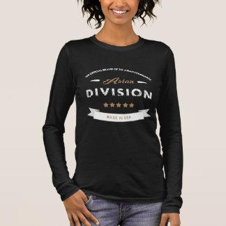 T-shirt Asian Division - Long Sleeve - Fem