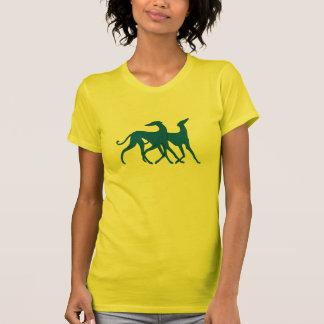 T - shirt Azawakh azul Playeras