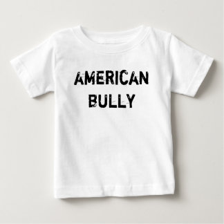 T-shirt baby American Bully