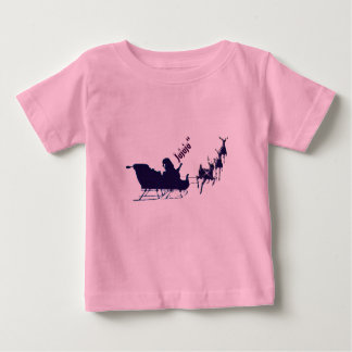 T-shirt baby, Christmas, Papa Noel