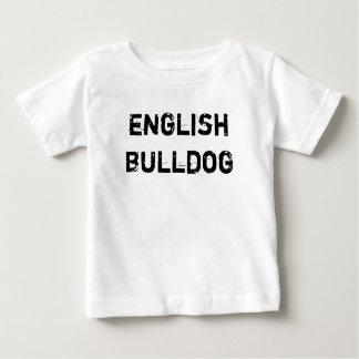 T-shirt baby English Bulldog