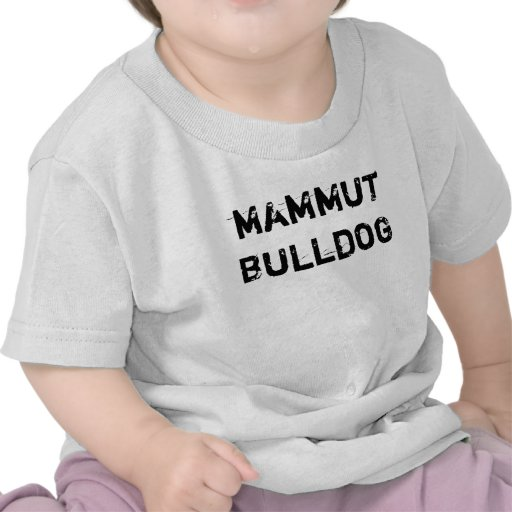 T-Shirt baby Mammut Bulldog