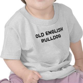 T-shirt baby old English Bulldog