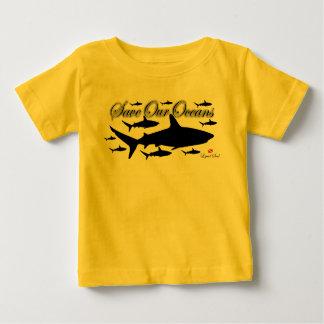 T-shirt baby Save Our Oceans - Tubar6ao of Recife