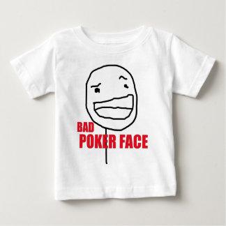 T-shirt bad Poker face