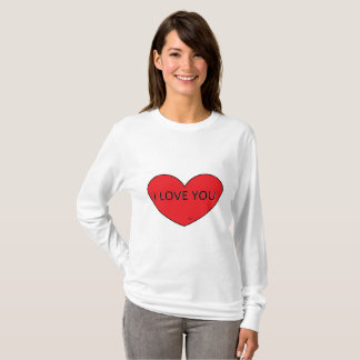 T-shirt básica com mola feminina