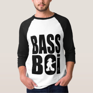 """T-Shirt """"Bass Boi - How Low Can You Go?"""" - by Kev"""