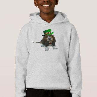 T-Shirt Basset Hound Happy St. Patrick