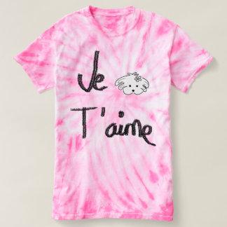 t-shirt batik, rose, the world of Lua