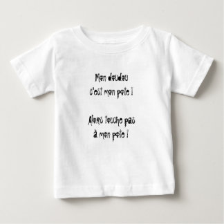 "T-Shirt bébé ""Mi doudou es mi compadre"" by REN Playera De Bebé"