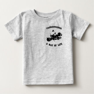 T-shirt bébé PassionRider Playeras