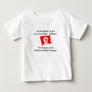 t-shirt bebé revolucionario playera