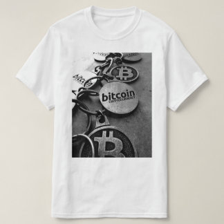 T-shirt Bitcoin Blockchain