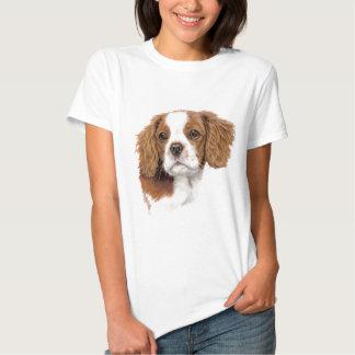 T Shirt : Blenheim Cavalier king charles spaniel