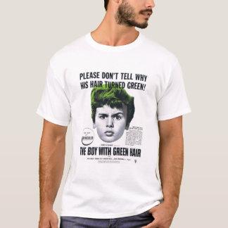 T-Shirt - Boy With Green Hair - 1948
