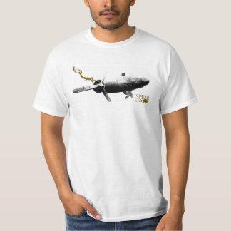 T-shirt Branca Airplane