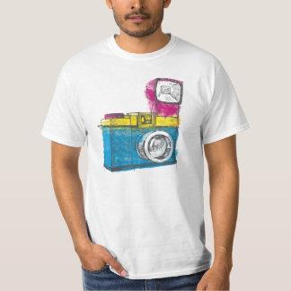 T-shirt Camera CMYK