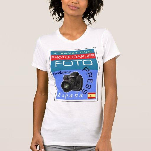T-Shirt - Camiseta - Intll Photographer - Spain