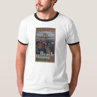 T-Shirt Capitola California Beach House 1930s