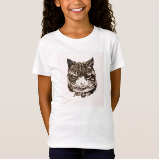 T-shirt Cat reproduction vintage illustration