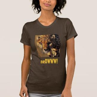 t-shirt cheetah, meOWWW!