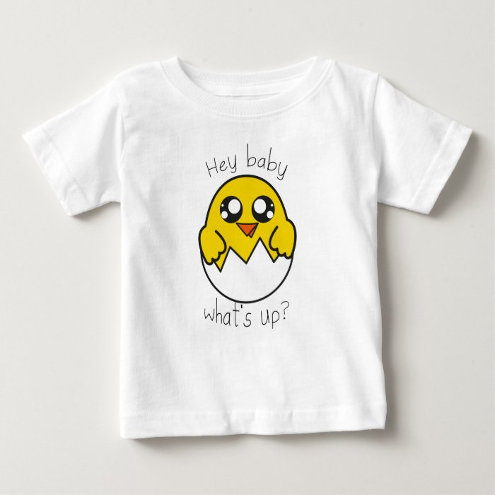T-shirt Chick what's up