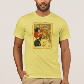 T-Shirt:  Compagnie Francaise des Chocolats T-Shirt