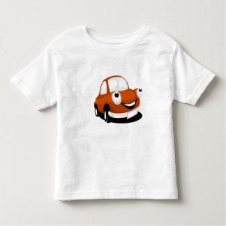 T-shirt con móvil de automóvil sabe playera