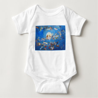 T-Shirt: Dance Around the Moon by C. Doyle Baby Bodysuit
