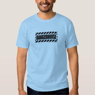 T-Shirt Dangerhouse Records Logo LIGHT COLOR SHIRT