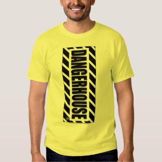 T-Shirt Dangerhouse Vertical Logo LIGHT COLOR