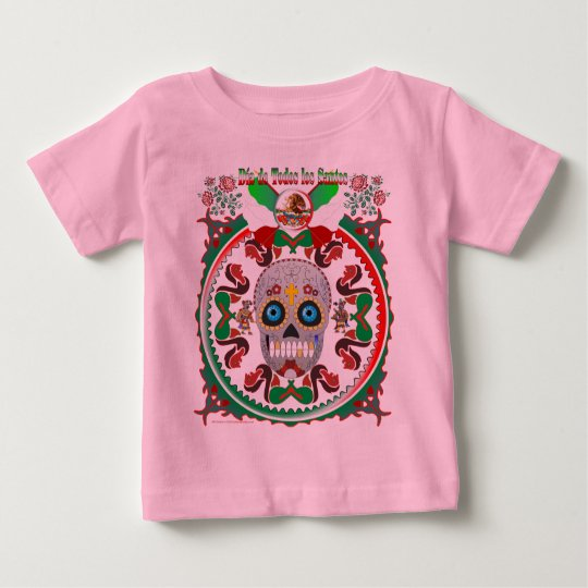 T-Shirt-Day-of-the-Dead-Ver-1 Baby T-Shirt