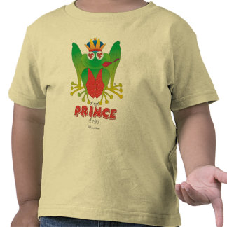 T-shirt de la rana de príncipe Toddler s Camiseta