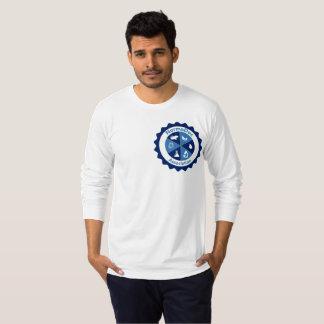T-shirt de manga larga - Logotipo NormaDoc Azul Playera