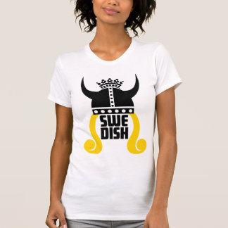 T-Shirt de princesa Funny Ladies Destroyed sueca Polera
