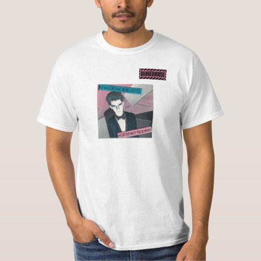 T-Shirt Deadbeats Hippies Dangerhouse WHITE