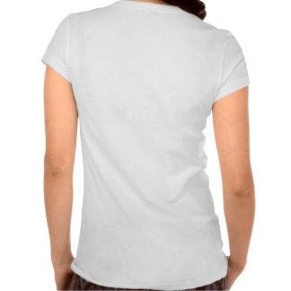 T-Shirt del compás de señora interna Camiseta