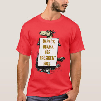 T-Shirt Democratic Donkey Your Candidate's Info