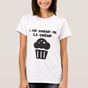 5c789c770 T-shirt design with quote crème.