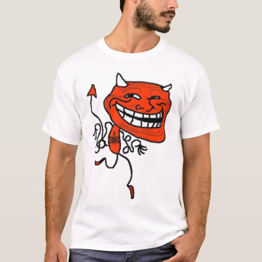 T-shirt Devil Troll