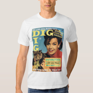 "T-Shirt ""DIG"" Teen Mag Cover ANNETTE 1964"