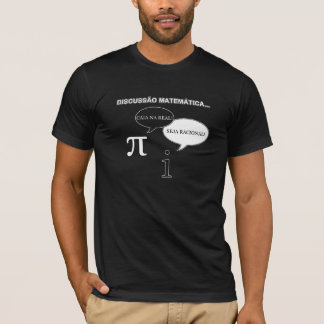 T-shirt - Discussion between pi and i (black)
