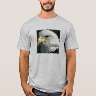 T shirt Eagle We will always remember