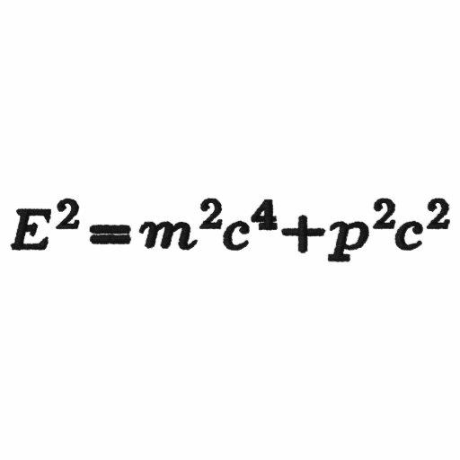 t-shirt, Einstein mass energy - generalized