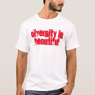 t-shirt expressions, diversity