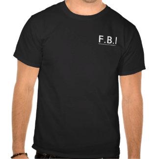 T-shirt F.B.I